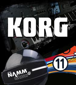 Les nouveautés du NAMM de Korg